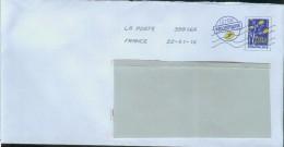 Pap Acep Lettre Prioritaire Logo Bleu Grand Modèle - Biglietto Postale