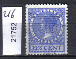 Niederlande, Mi. 216 O - Oblitérés