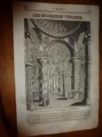 1835 LM : Les Mosquées En Turquie;Achmet (Constantinople);Platine Et Utilisations;Le Poisson PELERIN;Erasme à Rotterdam - Vieux Papiers