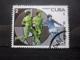 Cuba N°2250 COUPE Du MONDE De FOOTBALL ESPAGNE 1982 Oblitéré - World Cup