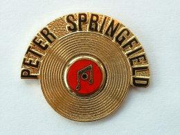 Pin´s PETER SPRINGFIELD - Music