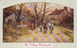 The Village Blacksmith 1909 - Shops