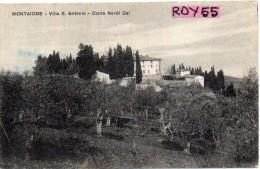 Toscana-firenze-montaione Veduta Villa S.antonio - Italia