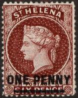 St. Helena Scott #29, 1883, Hinged - St. Helena