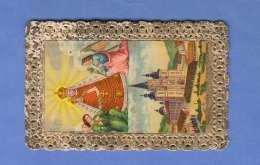 ANDENKEN An MARIA ZELL - Spitzen Heiligenbild Vor 1900 - Santini
