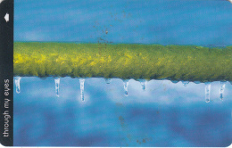 JERSEY ISL. - Through My Eyes/Iced Railing, CN : 62JERC(0 With Barred), Tirage %20000, Used