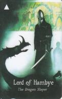 JERSEY ISL. - Legends/The Dragon Slayer, CN : 45JERG(0 With Barred), Tirage %19000, Used - United Kingdom