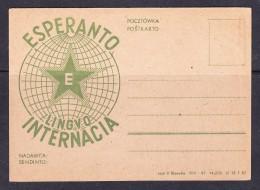 EXTRA9-54 POST CARD - Esperanto