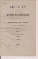 Vorges Aisne Monographie Géographie Faune économie Histoire 1905 Le Rhone De Genève à Lyon Les Sources - Géographie