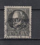 BEIEREN - Michel - 1919 - Nr 122A - Ges/Obl/Us - Bavaria