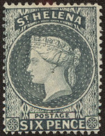 St. Helena Scott #7, 1889, Hinged - St. Helena