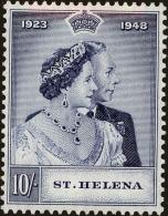 St. Helena Scott #131, 1948, Hinged - St. Helena
