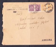 EXTRA9-56 LETTER FROM ANKARA - 1858-1921 Empire Ottoman