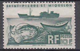 "St. Pierre & Miquelon 1947 Mi Nr  363 Trawler ""Colonel Pleven"" - Ongebruikt"
