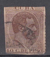 Cuba 1882 Mi Nr 49 Koning Alfons XII - Cuba