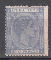 Cuba 1879 Mi Nr 28 Koning Alfons XII - Cuba