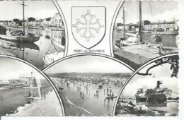 PORT-LA-NOUVELLE  ( 5 VUES - Animées + BATEAU ) - Port La Nouvelle