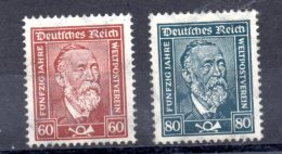 ALEMANIA REICH .  AÑO 1924.   Mi  362/363 - Yv 361/362  (MNH) - Deutschland