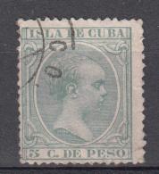 Cuba 1890 Mi Nr 67 Koning Alfons XIII - Cuba