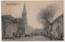 84 - SAINTE-CECILE-les-VIGNES - Avenue De L'Eglise - France