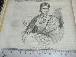 Tipu Sultan Tipu Tippoo Sahib  Schwester Sister India Engraving Print 1838!!! - Prints & Engravings