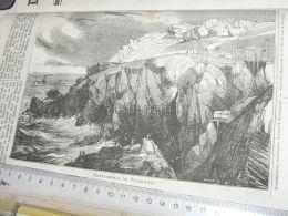 Cornwall England  Engraving Print 1838!!! - Prints & Engravings