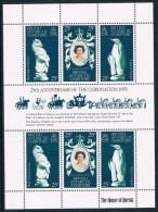 Territoire Antarctique Britannique - 25e Anniversaire De L'accession Au Trône D'Elizabeth II 75/77 X 2 ** - Territoire Antarctique Britannique  (BAT)