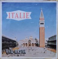 VIEW MASTER  POCHETTE DE 3 DISQUES   C 080  ITALIE - Visionneuses Stéréoscopiques