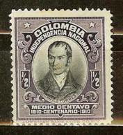 COLOMBIA 1910.__.__ [253-1] Centenario De La Independencia Nacional - Colombia