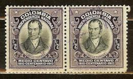COLOMBIA 1910.__.__ [253-4] Centenario De La Independencia Nacional - Colombia