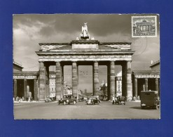 Berlin 1949  Mi.Nr. 42 , Brandenburger Tor - Maximum Karte - Stempel  Berlin ?? - Maximumkarten (MC)