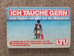 Germany, Deutschland, R & PD Serie, 2 Telefonkarten, 2 Phonecards, Tauchen, Urlaub, Scuba Dive, Used - Sport