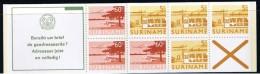 Surinam / Suriname 1978 Booklet 4ap Vliegtuig Airplane Flugzeug Avion MNH - Surinam