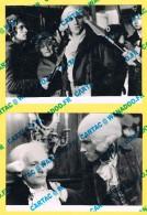 Cinéma. TF1.  GERARD DEPARDIEU - W. PSZONIAK.  DANTON. 1989.  2 Photographies. - Célébrités