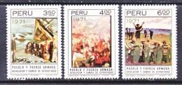 PERU  566-8    **   PAINTINGS - Peru