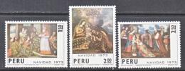 PERU  610-12    **   CHRISTMAS - Peru