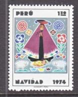 PERU  624    **    CHRISTMAS  MADONNA - Peru