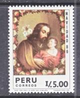 PERU  908    **    CHRISTMAS - Peru