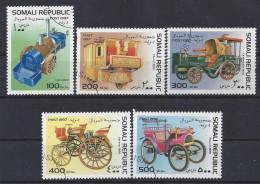 Somalia   1997  Historic Vehicles (o) - Somalia (1960-...)