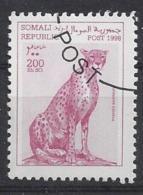 Somalia   1998 Wild Animals (o) - Somalie (1960-...)