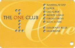 One Club Multi-Casino Slot Card - CPICA 28958 Over Mag Stripe (BLANK) - Casino Cards