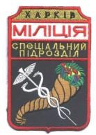 Ecusson / Patch. Ukraine . Police. Police. Militia. 2005 Year - Police