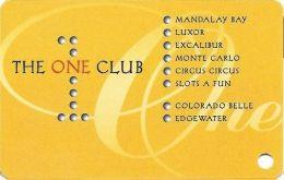 One Club Multi-Casino Slot Card - Cpi Over Mag Stripe (BLANK) - Casino Cards
