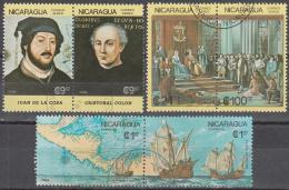 Nicaragua   Scott No   1561-66     Used      Year   1986 - Nicaragua