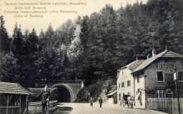 88 Frontière Franco-Allemande Entre Wesserling,Urbeis Et Bussang  Animée Douanier Allemand - Bussang