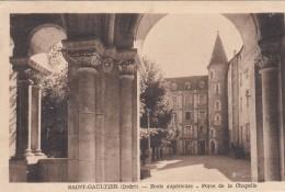 Cp , 36 , SAINT-GAULTIER , École Supérieure , Porte De La Chapelle - France