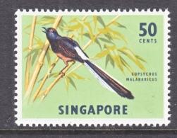 SINGAPORE  66 A     **  Wmk.  Sideways  FAUNA  BIRD - Singapore (1959-...)