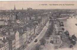 Cp , 44 , NANTES , Vue Générale Prise Du Transbordeur - Nantes