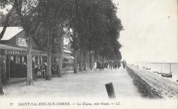Saint-Valéry-sur-Somme - La Digue Côté Ouest - Carte LL N°27 - Saint Valery Sur Somme