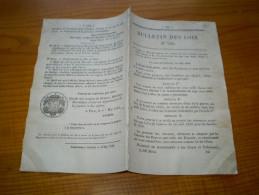 1840 . Transformation 700 000 Armes à Silex En Armes à Percussion; Arsenal Perpignan; Brevets..... - Decrees & Laws